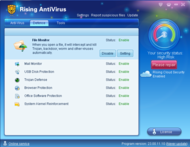 Rising Antivirus 2007 screenshot